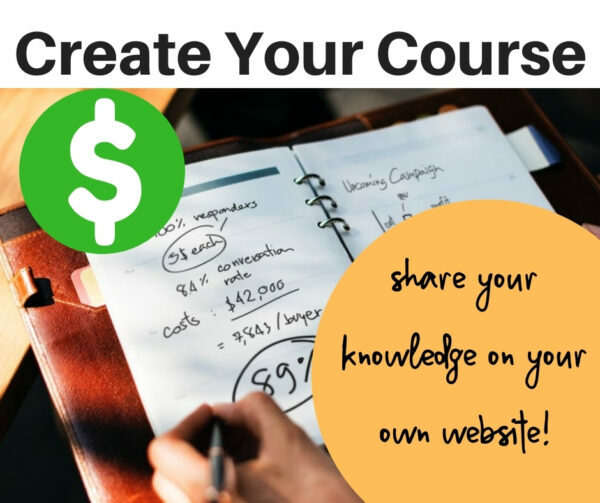 Create Your Course