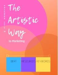 The Artistic Way to Marketing Digital Magazine