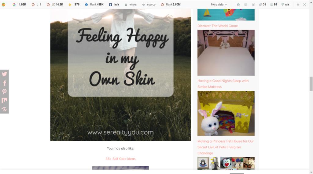 Blog Eye Serenity You